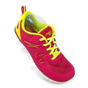 Danskin Now Pink/Neon Yellow Lightweight Athletic